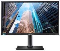"23.6"" SAMSUNG ""S24E650PL"", Black (PLS, 1920x1080, 4ms, 250cd, LED Mega-DCR, HDMI+DP+DSub, Spk,Pivot)"