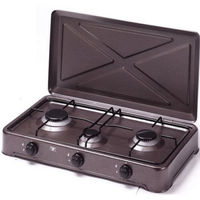 Настольная плита Vesta TT3-C/LPG, Brown
