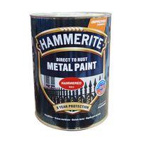 Hammerite Краска для металла Красная молотковая 2.5л