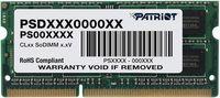 4GB DDR3-1333 SODIMM  Patriot Signature Line, PC10600, CL9