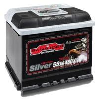 Аккумулятор SNAIDER 55 Ah Silver