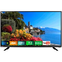 TV Bravis UHD-40E6000 Smart +T2, Black