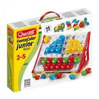 Quercetti 4195 Мозаика FANTACOLOR Junior Basic 48шт