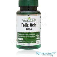 Acid Folic 400 mg comp. N90 Natures Aid