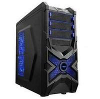Case ATX Magnum H740DB, Black/Blue