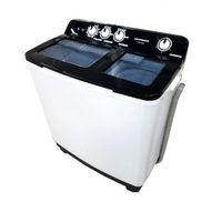 Полуавтоматическая стиральная машина HSWM-104BK