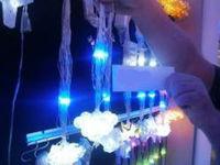 """купить Огни новогодние """"Лампочки"""" 56LED 3Х0.4m бел/синий цв в Кишинёве"""