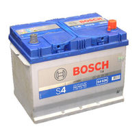 Bosch S4 026 70Ah 630A