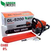 Motoferăstrău cu lanț pe benzină 2.2KW GL5200 GreenLand