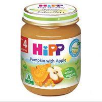 Hipp пюре тыква и яблоко, 4+мес. 125г