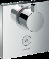 ShowerSelect Termostat HighFlow, instalare ascunsă pentru 1 consumator cu supapă pentru duș manual