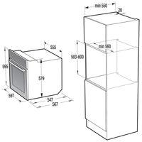 Электрический духовой шкаф Gorenje BO7732CLB