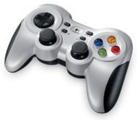 LOGITECH Gamepad F710, серебристый