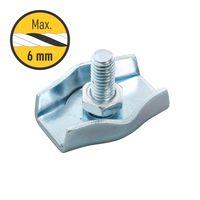 Тросовый соединитель 4-6 мм, простой