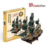 3D PUZZLE Queen Anne's Revenge (Mini)