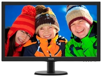 """27.0"""" Philips """"273V5LHAB"""", Black (1920x1080, 5ms, 300cd, LED10M:1, DVI, HDMI, 2x2W) (27.0"""" TFT+ W-LED backlight, 1920x1080, 0.311mm, 5ms, DC10000000:1 (1000:1), 350cd/m2, 170°/160° (C/R>10), H:30-83kHz, V:56-75Hz, D-Sub, DVI-D, HDMI, Speakers 2 x 2.0W)"""