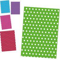 POL-MAK Бумага для упаковки POL-MAK 99.5x68.5см Горошек