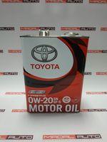 купить Масло моторное Toyota 0W20 (0W-20) SN/GF-5 4L в Кишинёве