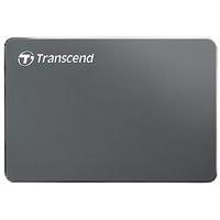 "2.0TB (USB3.1) 2.5"" Transcend ""StoreJet 25C3"", Iron Gray, Ultra-Slim, Aluminum Casing"