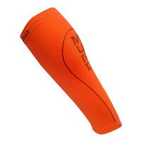 Гетры Mund Compression -5/+25, Correr, orange, 340/15