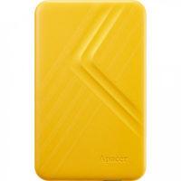 """2,5"""" Внешний жесткий диск 1.0 TB Apacer AC236, Yellow (USB 3.1) (Ultra-Slim Portable Hard Drive)"""