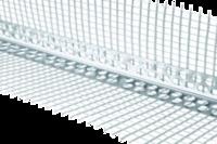 Профиль угловой алюминиевый с сеткой 3000 мм