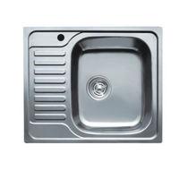 купить Мойка кухонная нержавеющая 0,8мм (satin)50/65 см прав 5065 R в Кишинёве