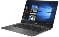 """NB ASUS 15.6"""" Zenbook UX530UX Grey (Core i5-7200U 8Gb 256Gb Win 10) 15.6"""" Full HD (1920x1080) Non-glare, Intel Core i5-7200U (2x Core, 2.5GHz - 3.1GHz, 3Mb), 8Gb (Onboard) PC4-17000, 256Gb M.2, GeForce GTX 950M 2Gb, HDMI, 802.11ac, Bluetooth, 1x USB 3.1 Type C, 1x USB 3.0, 2x USB 2.0, Card Reader, HD Webcam, Windows 10 Home RU, 3-cell 50 WHrs Polymer Battery, Illuminated Keyboard, 1.63kg, Grey Metal, Mouse"""