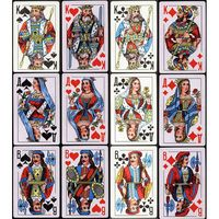 Карты игральные КОРОЛЬ 54 карты 9810