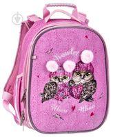 """Ghiozdan pentru școală """"Owls"""" CLASS I roz"""