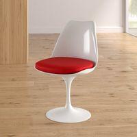 Пластиковое стул с мягким сиденьем, 520x480.5x450x820 мм,