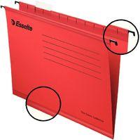 Esselte Папка навесная ESSELTE A4 с индикатором, красный
