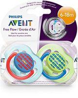Пустышки силиконовые ортодонтические Philips AVENT (6-18 мес) 2 шт