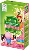 Heinz Любопышки Многозерновая каша слива, морковь, вишня, черная смородина