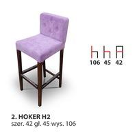 Деревянный стул HOKER H2