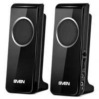 "купить Speakers SVEN 314 Black (USB),  2.0 / 2x2W RMS, USB power supply, headphone jack, microphone input, 2.2"" в Кишинёве"