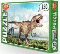 "Strateg Leo 068-10 Паззлы ""Динозавр"" (142 дет.)"