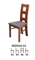 Деревянный стул A3