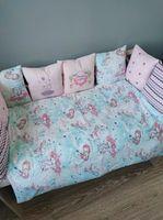 Комплект постельного белья в кроватку Pampy Единорожки