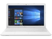 """NB ASUS 15.6"""" X541SC White (Pentium N3710 4Gb 1Tb) 15.6"""" HD (1366x768) Non-glare, Intel Pentium N3710 (4x Core, 1.6GHz - 2.56GHz, 2Mb), 4Gb (OnBoard) PC3-12800, 1Tb 5400rpm, GeForce 810M 1Gb, HDMI, DVD-RW, 100Mbit Ethernet, 802.11n, Bluetooth, 1x USB 3.1 Type C, 1x USB 3.0, 1x USB 2.0, Card Reader, Webcam, DOS, 3-cell 36 WHrs Li-Ion Battery, 2.0kg, White"""