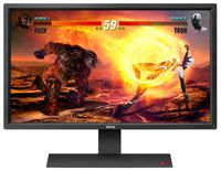 """27.0"""" BenQ """"RL2755HM"""", Black (120hz 1920x1080, 1ms, 300cd, LED12M:1(1000:1), D-Sub+DVI+HDMI) RePack (27.0"""" TN LED backlight, 1920x1080, 0.311mm, 1ms (Gray to Gray), DC12M:1 (1000:1), 300cd/m2, 170°/160°, D-Sub, DVI-D, HDMI, Headphone jack, Audio line in, Speakers 2x2W, AMA, Black eQualizer, Senseye®, Flicker-free Technology, Low Blue Light, Black)"""