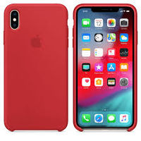 Apple Original Silicone Case Iphone XS Max  , Product Red