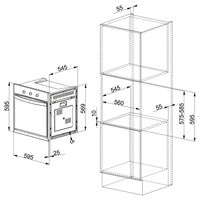 Электрический духовой шкаф Franke CR 66 M WH/F