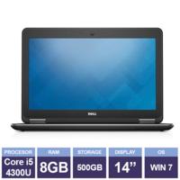 "Ноутбук Dell Latitude E7440 Black (14"" | Intel Core i5-4310U | 8 GB RAM | 500 GB HDD | Windows 7 Pro)"