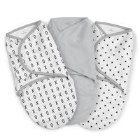Пелёнка-кокон Summer Infant SwaddleMe XO (0-3 мес) 3 шт