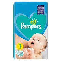 Pampers Scutece New Baby 1, 2-5 kg, 43 buc.