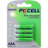 Baterii reincarcabile PkCell AAA 600 mAh 4 bucati
