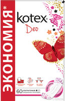 Kotex прокладки Lux Super Slim Deo 60 шт