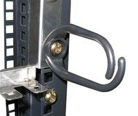 Направляющая для проводов (Кольцо, пластиковое) 1U (Jumper Ring)