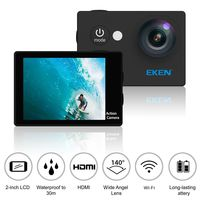 Action camera Eken W9s 720P, Waterproof Case, Black